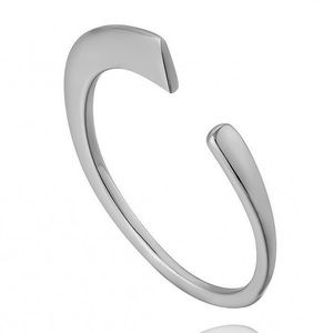 925 Sterling Silver Minimalist Adjustable Ring